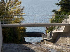 Gehweg und Promenade an der Veraye