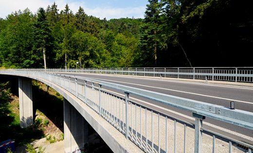 Brücke über die Chandelar