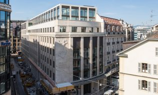 Ilots de bureaux UBS-Rhône