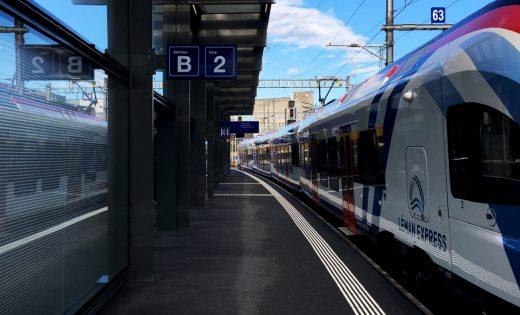 Inauguration de la gare de Lancy – Pont-Rouge