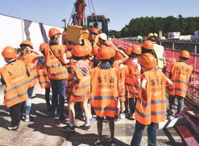Visite pédagogique des ponts sur la Paudèze