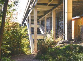 Pont sur le Flon – Phase 4