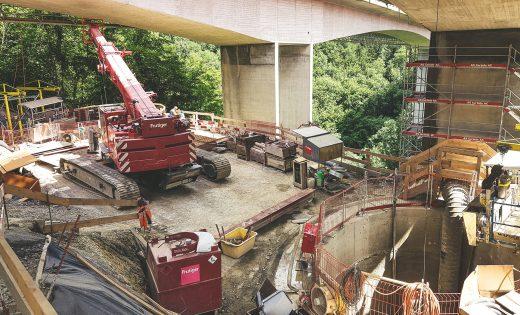 Puits bloquants des ponts sur la Paudèze – OFROU