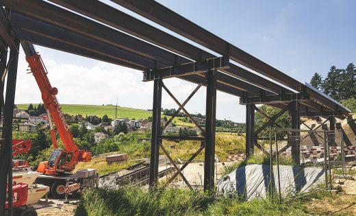 Ponts provisoires du pont sur le Lavapesson – OFROU