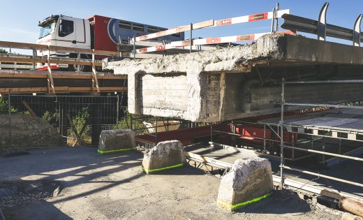 Rehabilitation of the Bern and Vevey ramps – Lavapesson bridge – FEDRO
