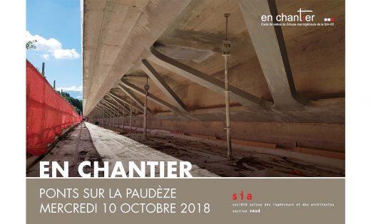 """Visite SIA """"En Chantier""""             Ponts sur la Paudèze"""