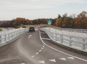 End of the on-road works and reopening of the access ramps of the Lavapesson bridge