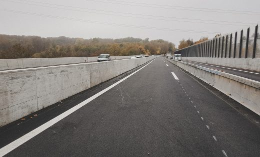 Pont sur le Flon – Phase 2