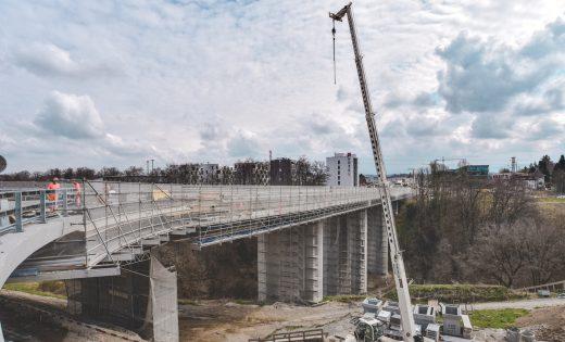 Brücke über den Lavapesson, Wiederaufnahme der Strassenarbeiten 2019 – ASTRA