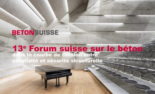 Betonsuisse – 13e Forum suisse sur le béton
