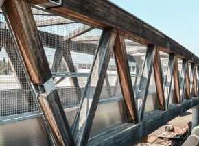 Geneva Stadium Footbridge – Rehabilitation of the Deck
