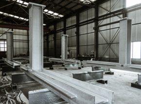 Öffentliche Räume von Chêne-Bourg – Stahlbau